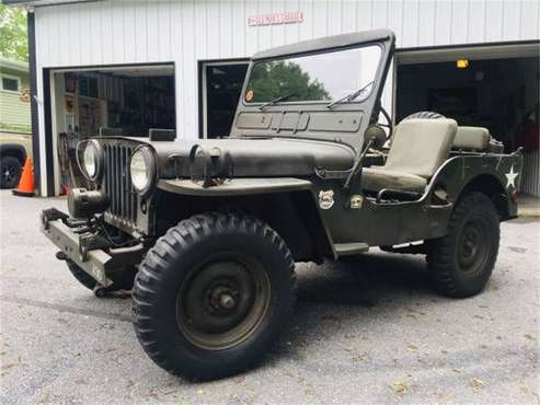 1951 Willys Jeep for sale in Cadillac, MI