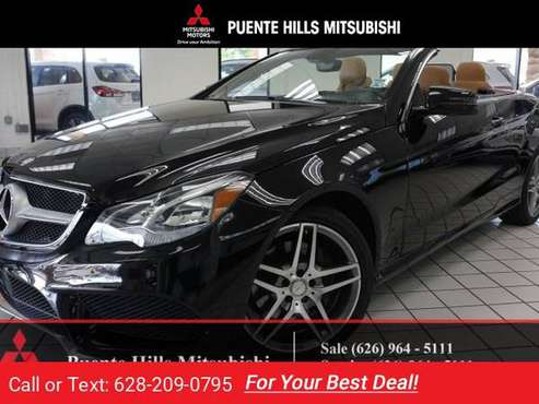 2016 Mercedes Benz E400 cabriolet for sale in City of Industry, CA
