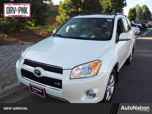 2010 Toyota RAV4 Ltd 4x4 4WD Four Wheel Drive SKU:AW036603 for sale in Englewood, CO