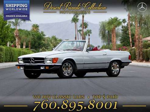 This 1979 Mercedes-Benz 280SL w107 Euro Model Sedan is PRICED TO SELL! for sale in Palm Desert, TX