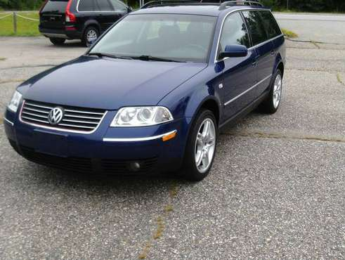 2002 VW PASSAT 4 MOTION TIMING DONE for sale in Kingston, MA