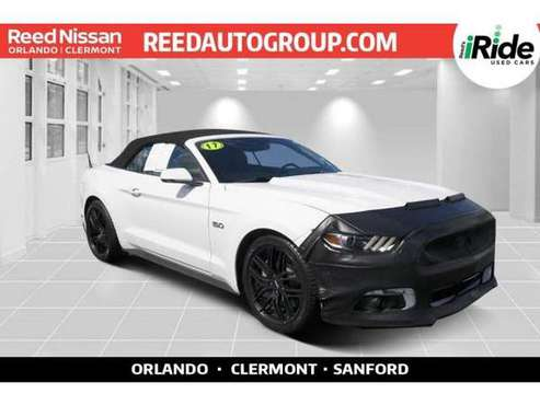 2017 Ford Mustang GT Premium - convertible for sale in Sanford, FL
