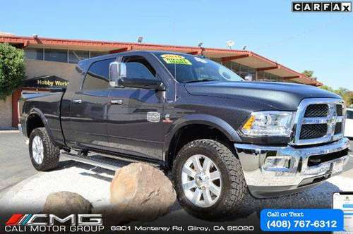 2015 Ram 3500 Longhorn Mega Cab *DIESEL *4X4 - We Have The Right Loan for sale in Gilroy, CA