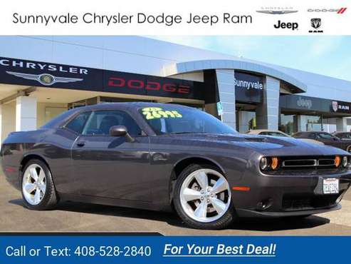 2015 *Dodge* *Challenger* *R/t* *Plus* *Coupe* coupe Gray for sale in Sunnyvale, CA