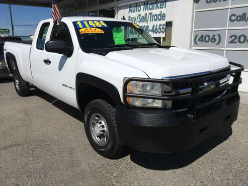 *2007 Chevy 2500HD 4WD!!! 2-Owner/Clean Carfax!!! 6.0L V-8!! Clean! for sale in Billings, MT