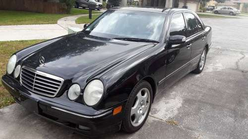 2001 Mercedes E 430 -134K for sale in New Port Richey , FL