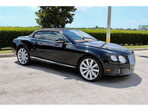 2012 Bentley Continental GTC for sale in Sarasota, FL