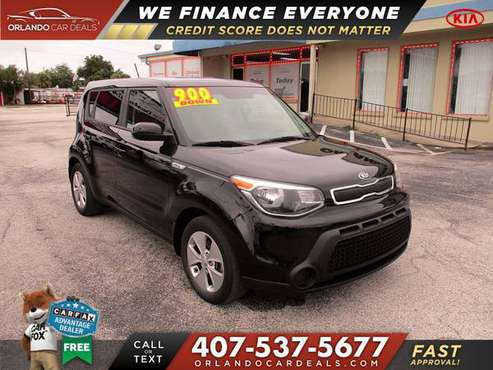2016 KIA *Soul* NO CREDIT CHECK loans just pay the DOWN on the... for sale in Maitland, FL