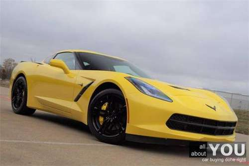 2017 Chevrolet Chevy Corvette Stingray - SE HABLA ESPANOL! - cars &... for sale in McKinney, TX