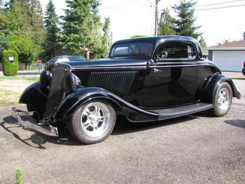 1934 Ford 3 Window Coupe Street Rod for sale in Renton, WA
