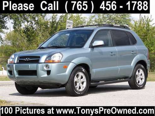 2009 HYUNDAI TUCSON LIMITED 4X4 ~~~~~~~ 35,000 Miles ~~~~~~~ FINANCING for sale in Kokomo, IN