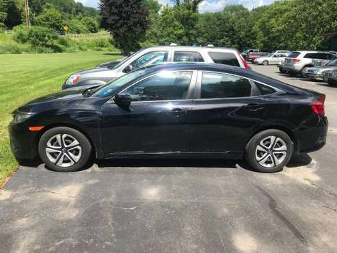 2016 Honda Civic LX *only 38,000 miles* for sale in Hartland, VT