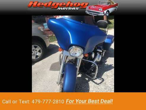 2007 Harley-Davidson FLHXI Motorcycle - Touring Blue for sale in Springdale, AR