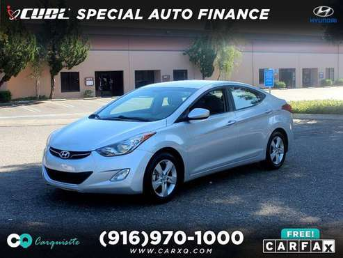 2013 Hyundai Elantra GLS Affordable Sedan! for sale in Roseville, CA