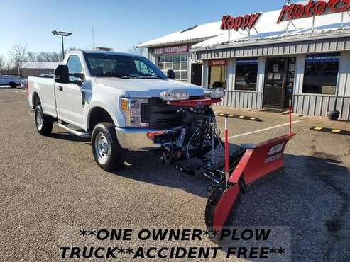 2017 F250 Super Duty Plow Truck - cars & trucks - by dealer -... for sale in Forest Lake, MN