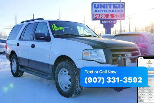 2013 Ford Expedition XL Fleet 4x4 4dr SUV / Financing Available /... for sale in Anchorage, AK