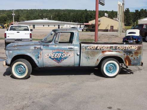 1963 STUDEBAKER CHAMP PICKUP for sale in Newcastle, WY