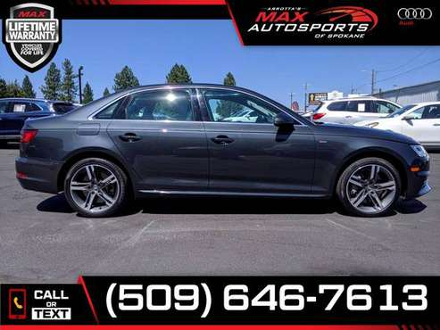 $432/mo - 2017 Audi A4 Premium Plus AWD - LIFETIME WARRANTY! - cars... for sale in Spokane, WA