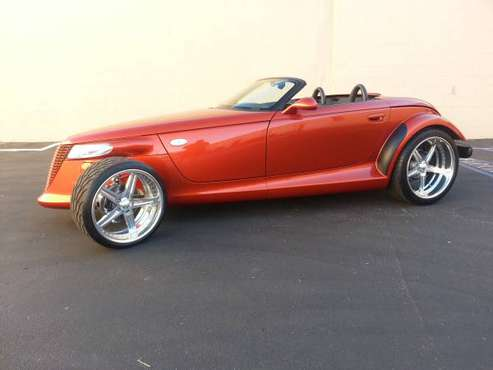 2001 Prowler Chrysler Plymouth Convertible for sale in Woodland Hills, CA