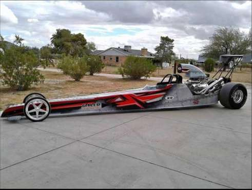 "1995 Spitzer Dragster 225"" and 1998 haulmark 24' x 8' enclosed trailer for sale in NOGALES, AZ"