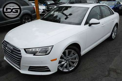 2017 *Audi* *A4* *2.0T Premium* Ibis White for sale in Avenel, NJ