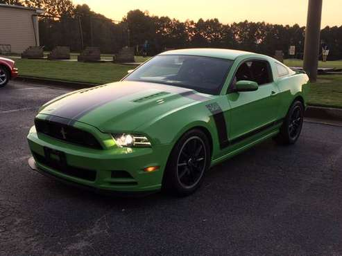 Well Cared For 2013 Mustang Boss 302 Gotta Have it Green! 69k miles for sale in Woodstock, GA