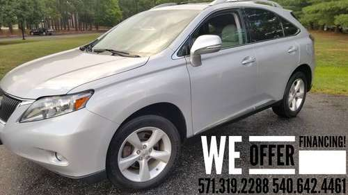 2010 Lexus RX350 AWD PRISTINE Only 123k miles/Clean Carfax/ REDUCED! for sale in FREDERICKSBURG VA, VA