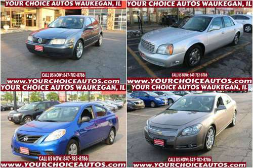 2004 VW JETTA / 02 CADILLAC DEVILLE / 14 NISSAN VERSA/ 12 CHEVY... for sale in CHICAGO, IL, WI