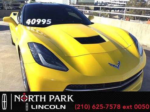 2015 Chevrolet Corvette 3LT - coupe - cars & trucks - by dealer -... for sale in San Antonio, TX