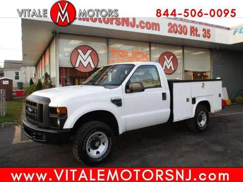 2008 Ford Super Duty F-250 SRW REG. CAB 4X4 UTILITY BODY ** 100K GAS... for sale in south amboy, MO