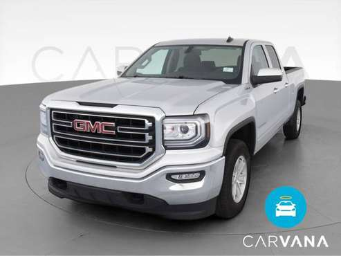 2018 GMC Sierra 1500 Double Cab SLE Pickup 4D 6 1/2 ft pickup Silver... for sale in Saint Louis, MO