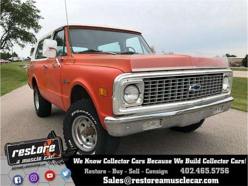 1972 Chevrolet Blazer for sale in Lincoln, NE
