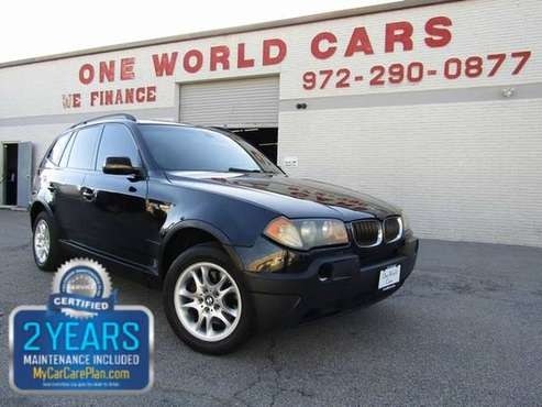 2004 BMW X3 X3 4dr AWD 2.5i for sale in Dallas, TX