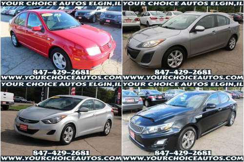 2001 VW JETTA / 2011 MAZDA3 / 2013 HYUNDAI ELANTRA / 2014 KIA OPTIMA... for sale in Elgin, IL