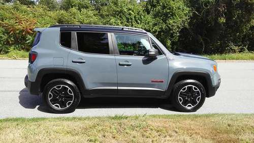 2017 Jeep Renegade Trailhawk - cars & trucks - by owner - vehicle... for sale in Cranston, RI