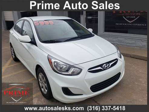 2014 HYUNDAI ACCENT GLS for sale in Wichita, KS