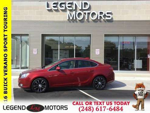 2016 Buick Verano Sport Touring Group for sale in Waterford, MI