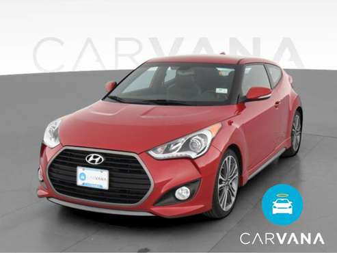 2016 Hyundai Veloster Turbo Coupe 3D coupe Red - FINANCE ONLINE -... for sale in Long Beach, CA