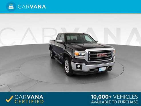 2014 GMC Sierra 1500 Double Cab SLT Pickup 4D 6 1/2 ft pickup Black - for sale in Charleston, SC