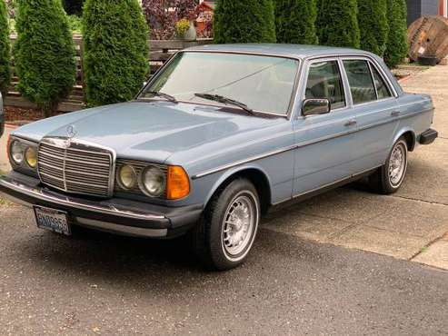 1985 Mercedes Benz 300D Turbo for sale in Seattle, WA