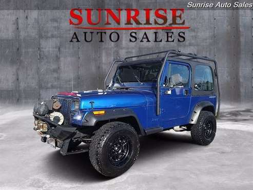 1994 Jeep Wrangler 4x4 4WD S 2dr S SUV - cars & trucks - by dealer -... for sale in Milwaukie, OR