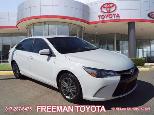 2017 Toyota Camry SE - Finance Low for sale in Hurst, TX