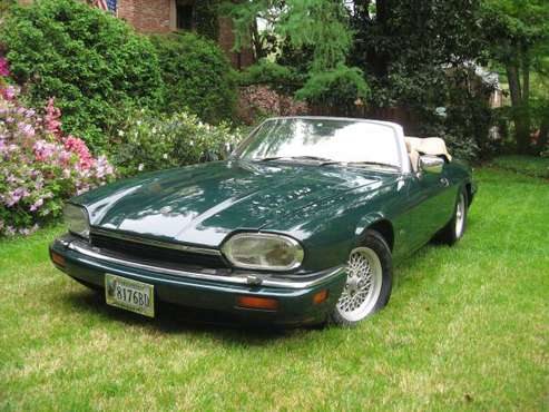 1994 Jaguar XJS,6 cyl.,4.0L.Green convertible,tan.149,800 miles.OBO for sale in Front Royal, District Of Columbia