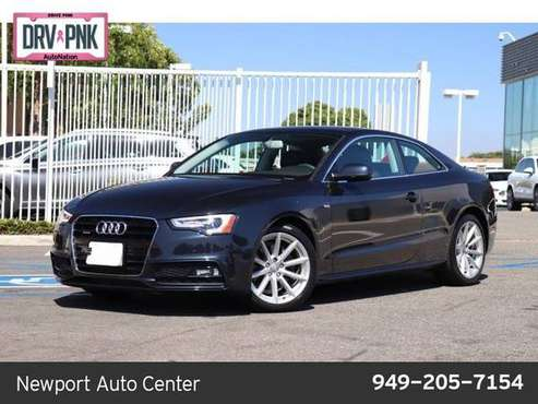 2015 Audi A5 Premium Plus AWD All Wheel Drive SKU:FA026162 for sale in Newport Beach, CA
