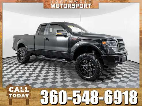 Lifted 2013 *Ford F-150* FX4 4x4 for sale in Marysville, WA