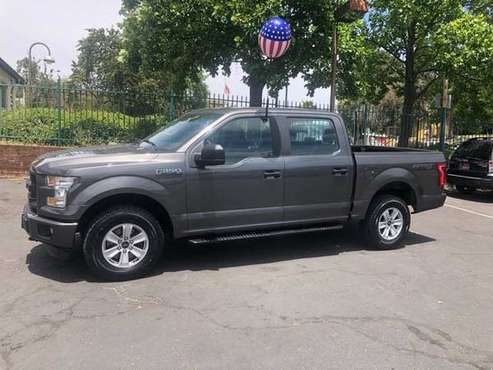 2016 Ford F150 Super Crew XL*4X4*Tow Package*Back Up Camera*Financing for sale in Fair Oaks, CA