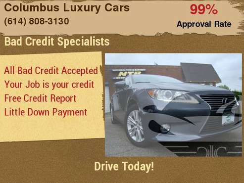 2013 Lexus ES 350 4dr Sdn with Tool kit for sale in Columbus, OH