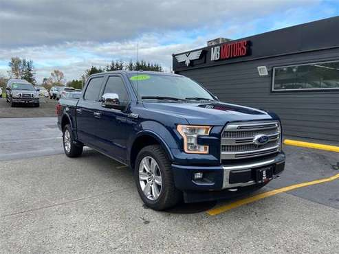 2017 Ford F-150 4x4 4WD F150 Platinum Truck - cars & trucks - by... for sale in Bellingham, WA