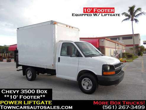 Chevy Express Box Truck *POWER LIFTGATE* 10 Footer Cargo Van Box Truck for sale in West Palm Beach, FL