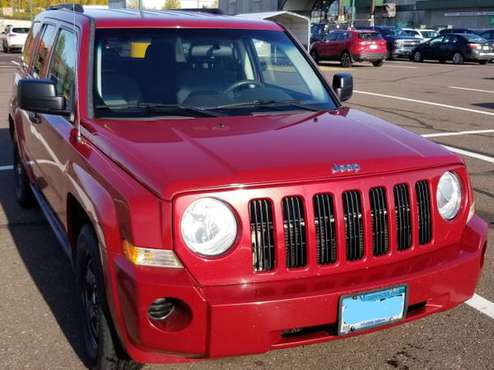 2009 Jeep Patriot 4x4 - SOLD (Duluth MN) for sale in Duluth, MN